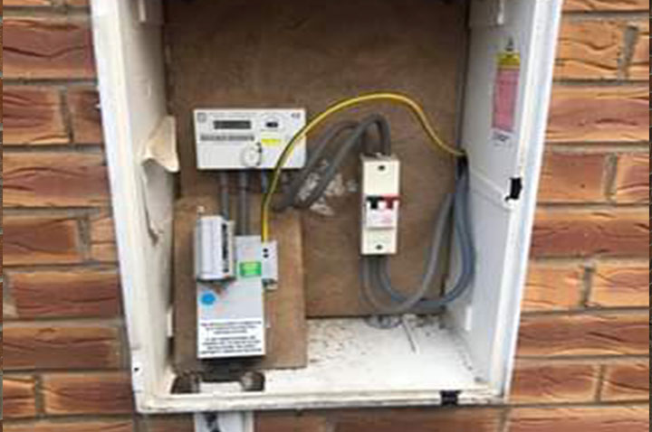 Fabulous Electric Meter Box Repairs Utility Box Repairs Wiring Cloud Brecesaoduqqnet